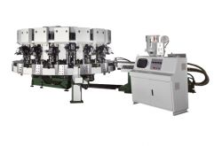 Single Colored Automatic Rotary Type Soles Jointing & Ejecting Machine NSK-294B
